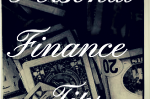 Personal Finance Tips (Infographic)